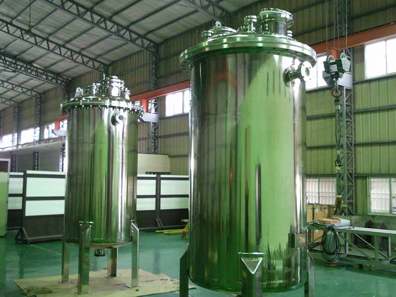 塔桶槽内衬-长春化工Sus316 tank lied PTFE&100M² Heat-exchanger
